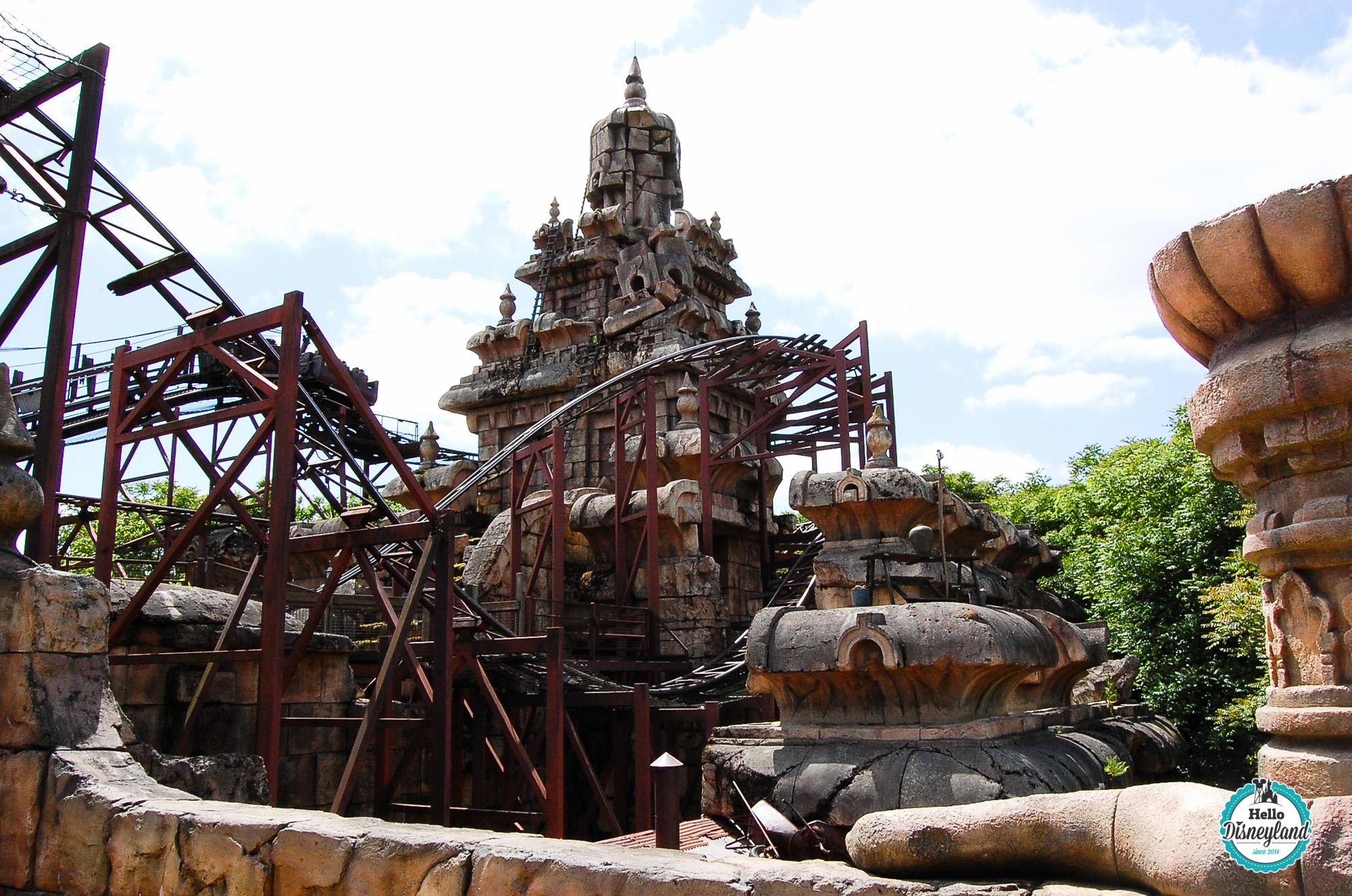 Hello Disneyland  Le blog n1 sur Disneyland Paris  Indiana Jones et le Temple du Pril