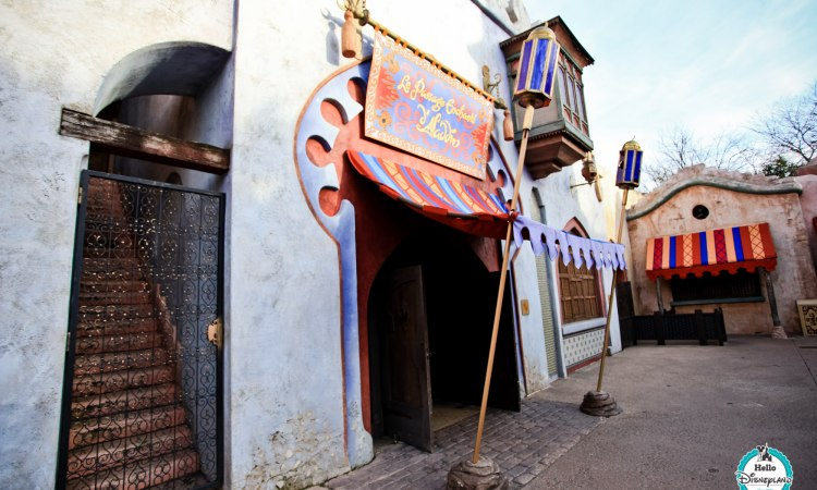 Passage enchanté d'Aladdin