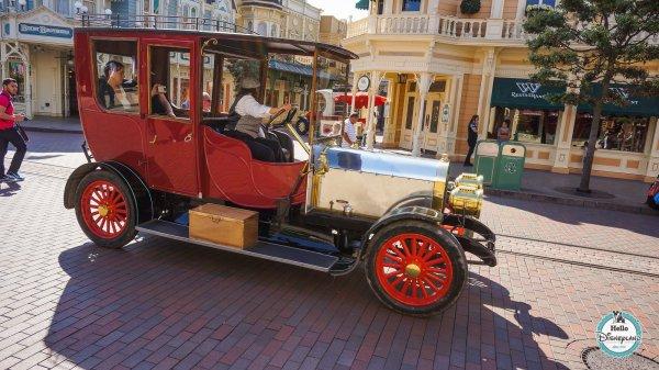 Disneyland Le 1 Sur Paris Main Street Vehicles