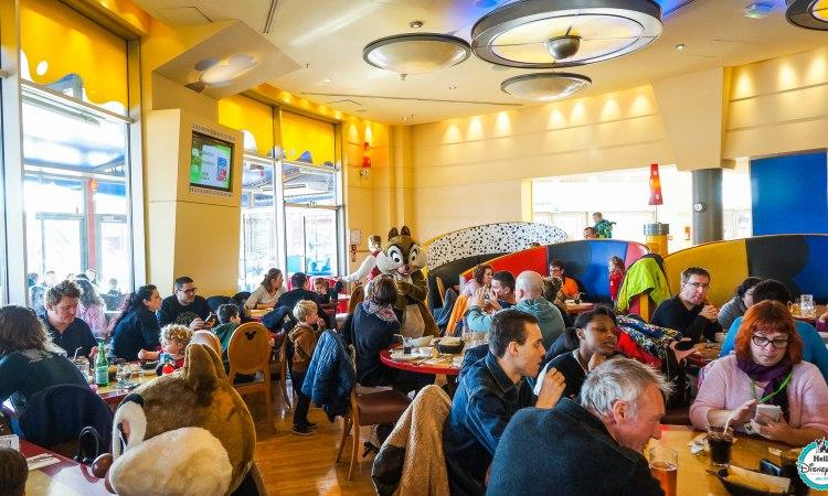 Cafe Mickey - Disneyland Paris Restaurants Personnages