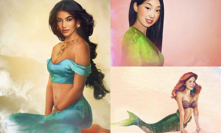 « Real Life » Disney Girls Par Jirka Väätäinen
