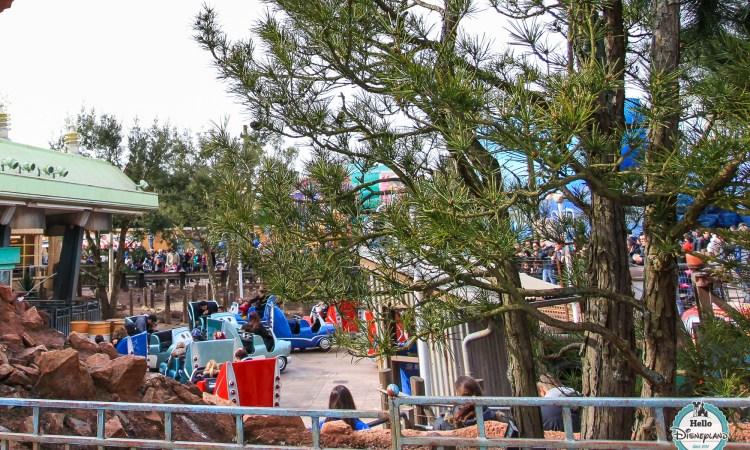 Cars Quatre Roues Rally - Disneyland Paris