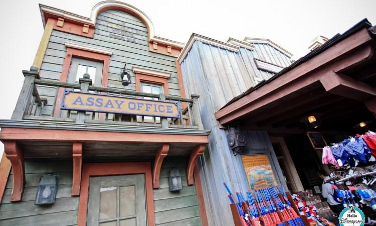 Eureka Mining Supplies à Disneyland Paris