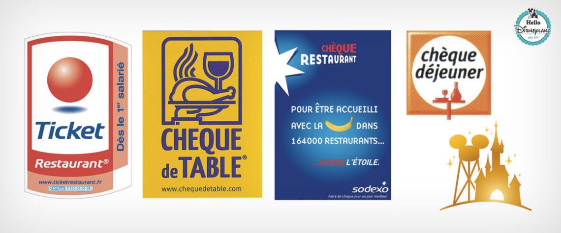 tickets restaurants Disneyland Paris