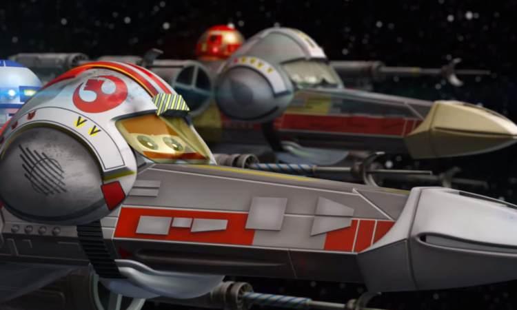 X-Wings Disney Star Wars parodie