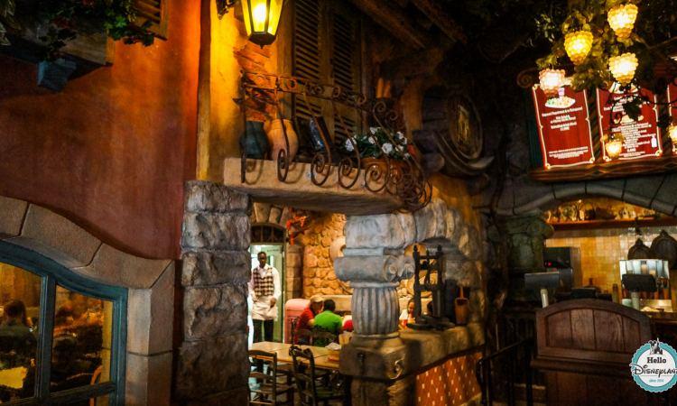 Pizzeria Bella Note Restaurant - Disneyland Paris
