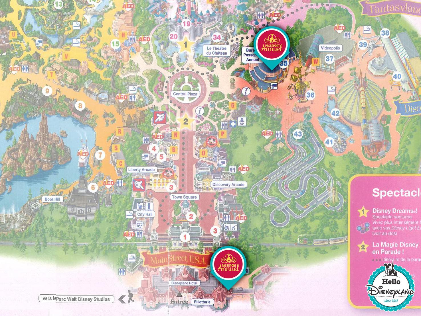 Hello Disneyland Le Blog N 1 Sur Disneyland Paris Bureau Des