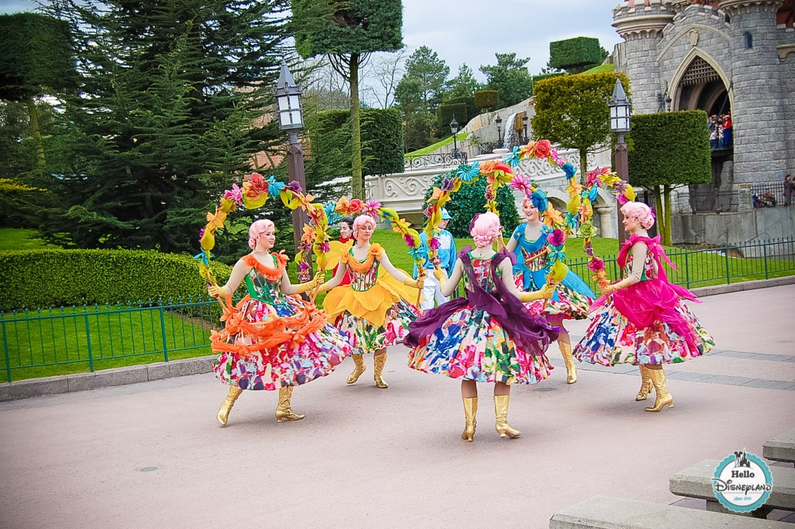 Disney Once Upon a Dream Parade - Disneyland Paris -26