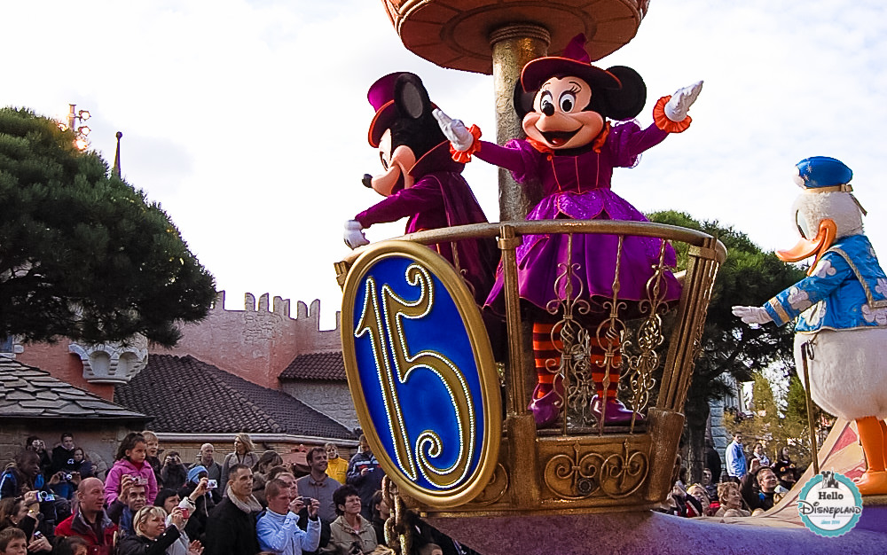 Disney Once Upon a Dream Parade - Disneyland Paris -39