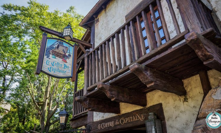 Le coffre du capitaine - boutique pirates disneyland paris