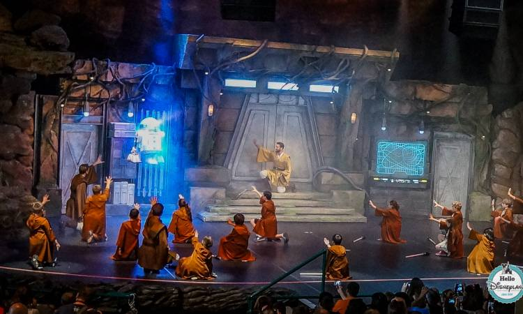 animation Jedi - Disneyland Paris