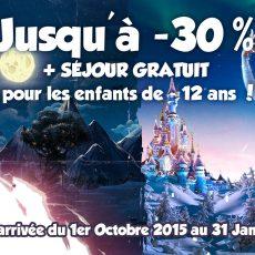 promotions 2015 Noel et Halloween disneyland Paris