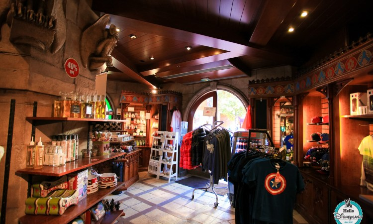 Boutique King Ludwig Castle - Disneyland Paris