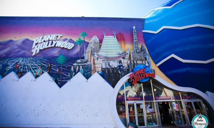 Boutique Planet Hollywood - Disneyland Paris