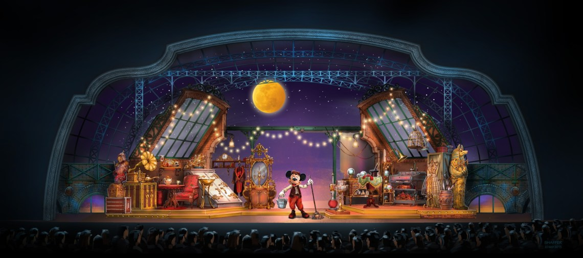 Mickey and the Magician DLP - Art