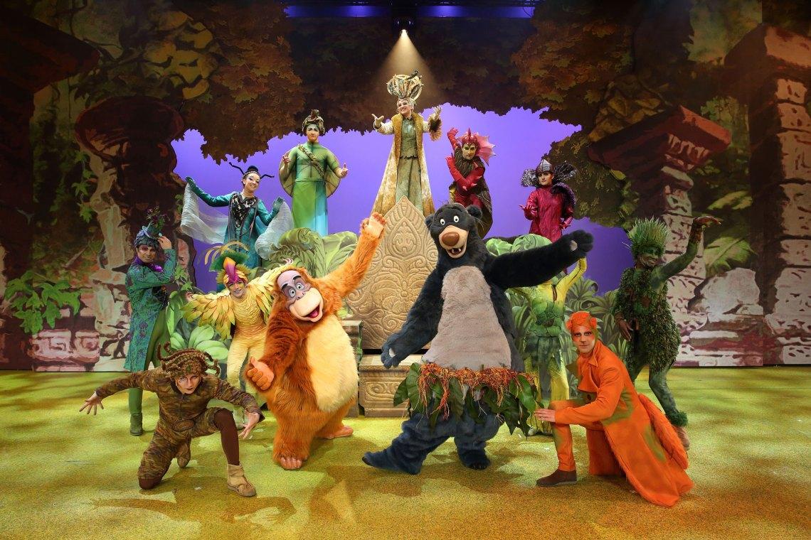 la Forêt de l'Enchantement, spectacle musical Disneyland Paris