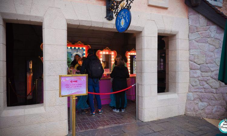 Les stands maquillages enfants à Disneyland Paris