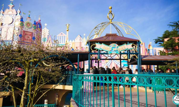 its a small world - maison des poupees - Disneyland Paris renovation