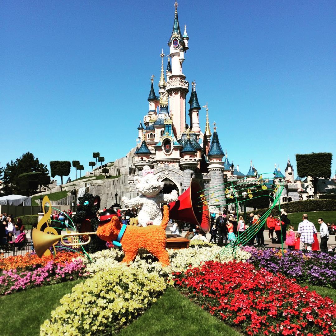 Spring Disneyland PAris Castle