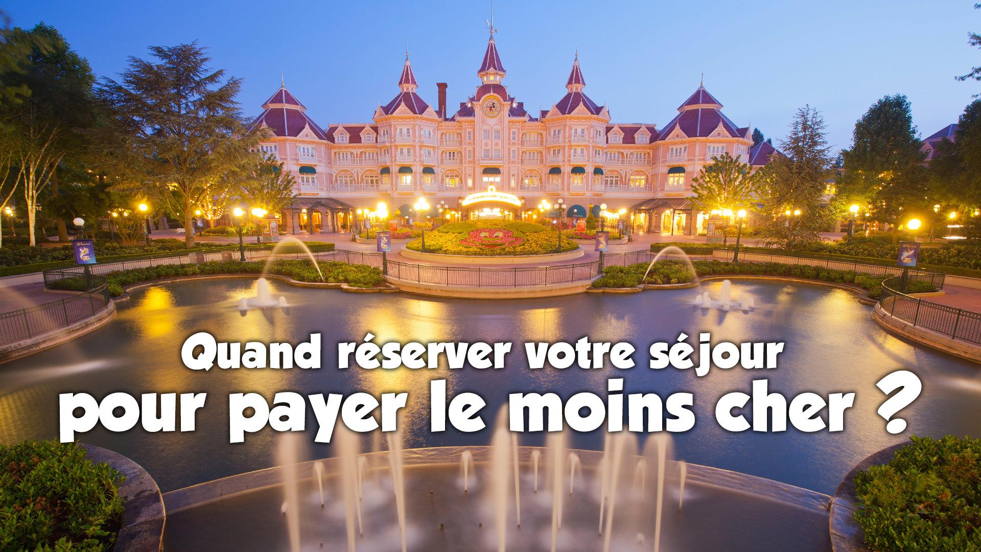reservation hôtel disneyland paris pas cher