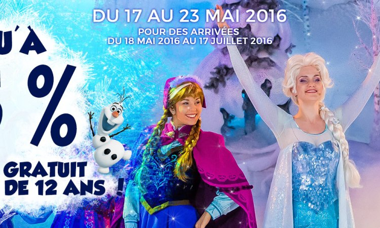 vente flash Disneyland Paris 2016