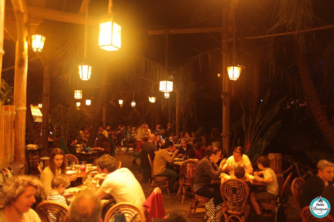 Blue Lagoon Restaurant Pirates des Caraïbes Disneyland Paris