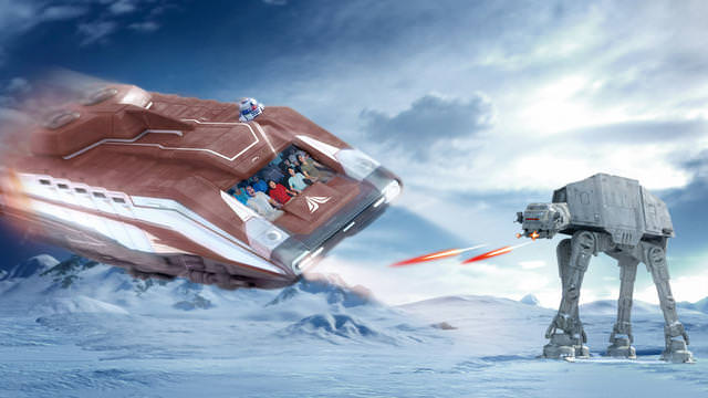 Star Tours II Disneyland Paris