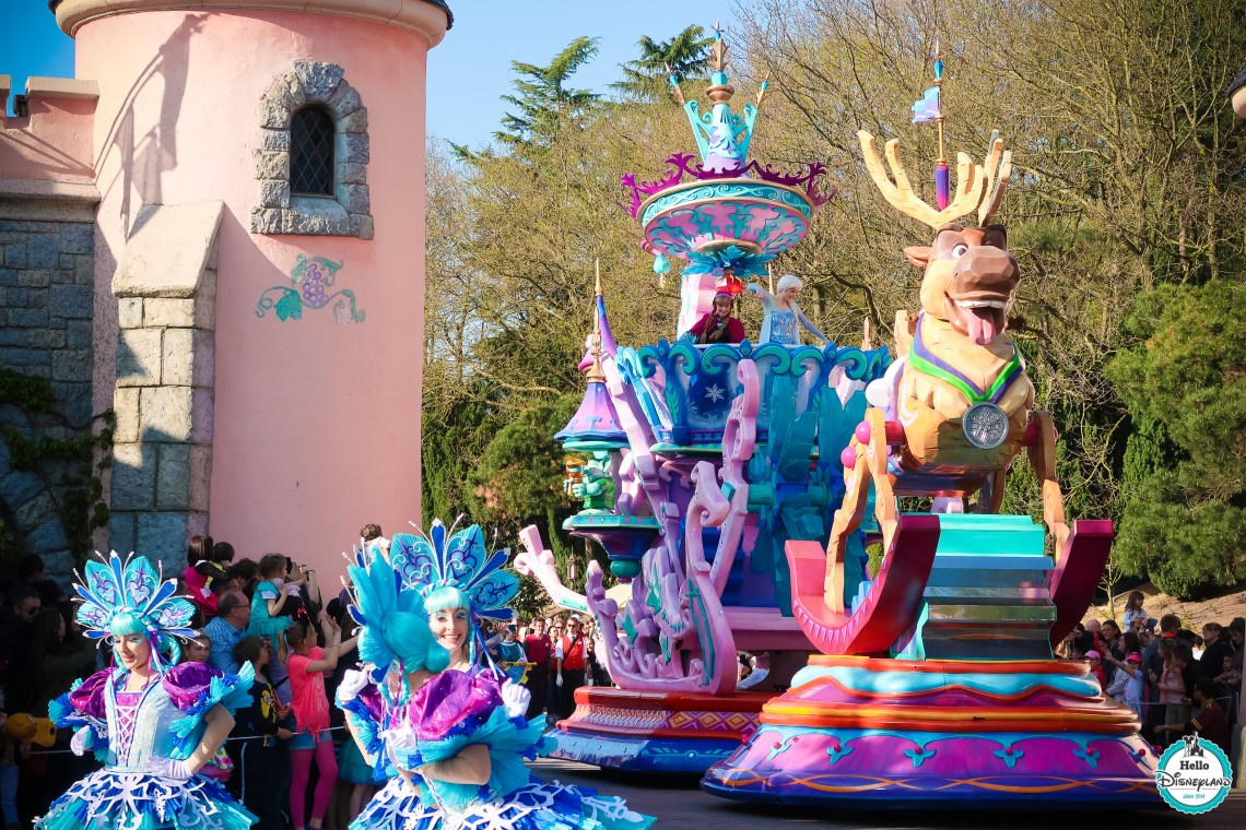 Où se placer Disney Stars on Parade 25 ans - Disneyland Paris