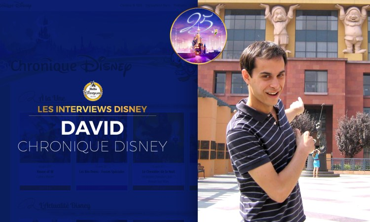 Les interviews Disney : David Scordia Chronique Disney
