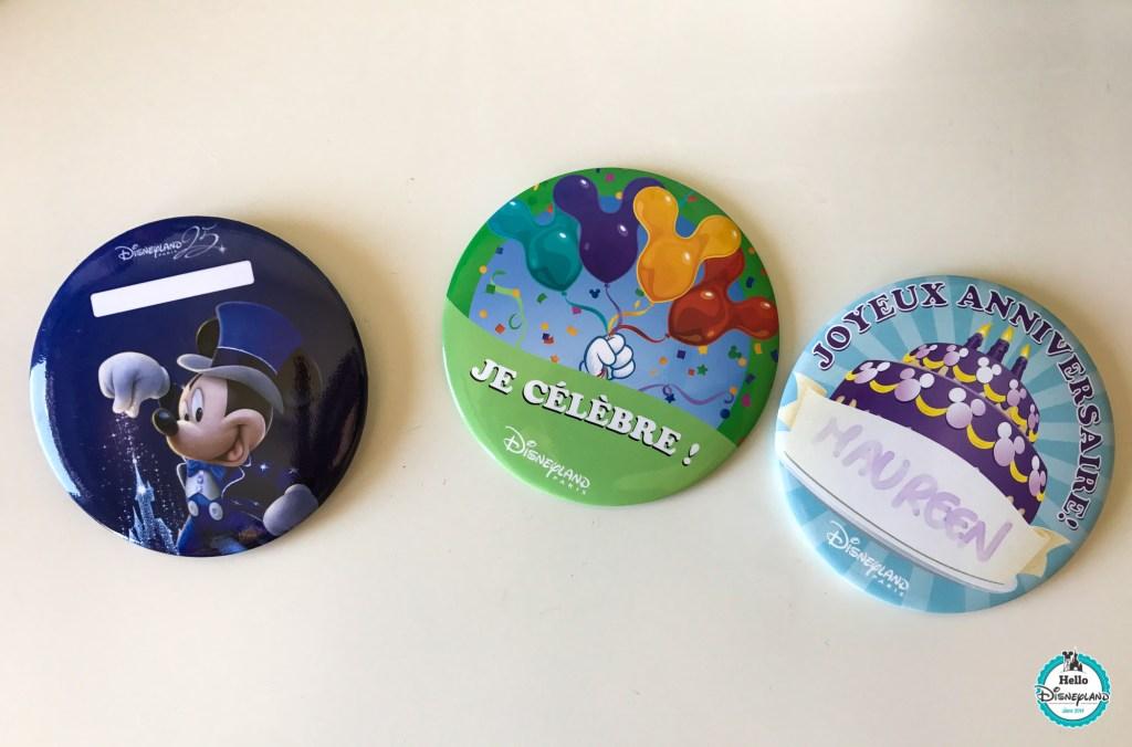 Badges gratuits Disneyland Paris