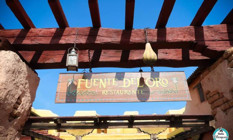 Fuente del Oro - Disneyland Paris