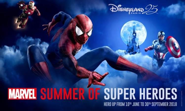 Marvel Summer Disneyland Paris