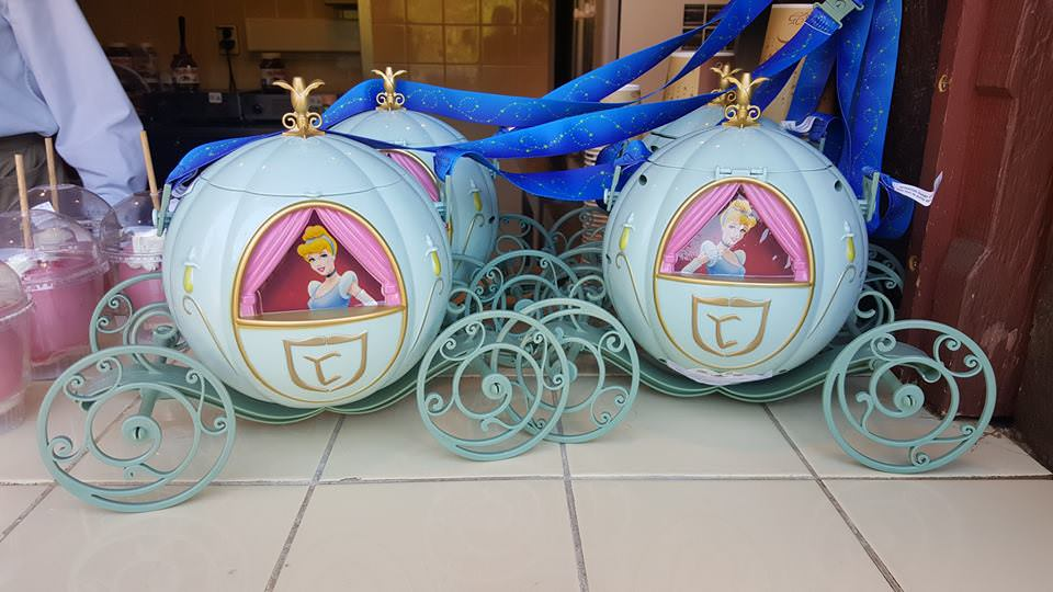 Gouter Pop Corn Cendrillon Deli Festival Pirates Princesses Disneyland Paris
