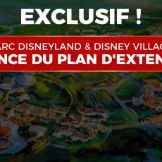 plan extension parc disneyland et disney village