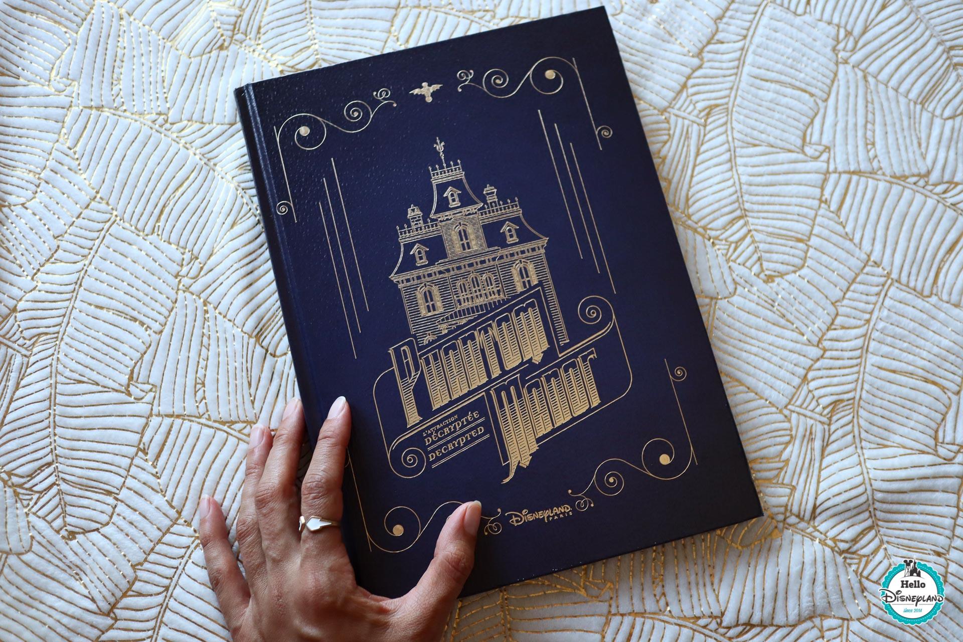 Le Livre Phantom Manor Mon Avis Hello Disneyland