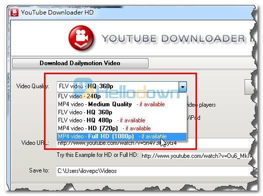 如何用Youtube Downloader HD下載YouTube影片 - 視頻軟體教學 - 軟體教學 - 軟體教程 - HelloDown