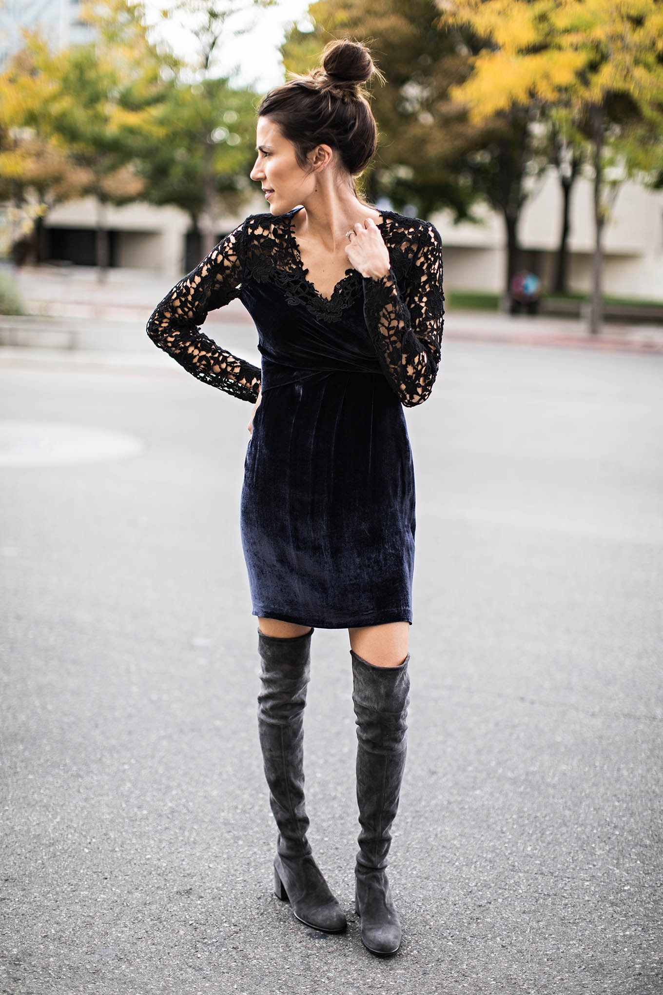 otk boot outfit inspiration