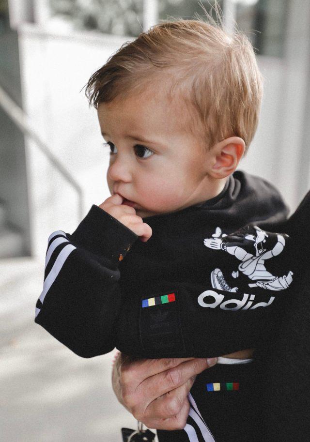 kids goofy adidas sweatshirt