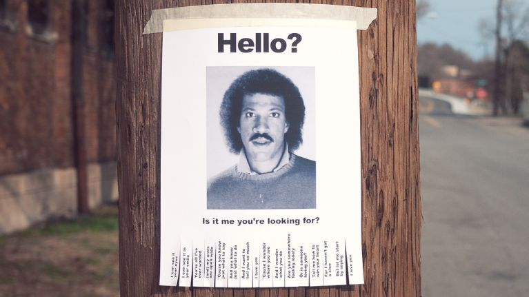 Hello is it me you're looking for?