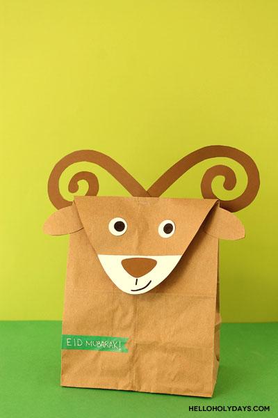 Ram treat bags for Eid al Adha by Hello Holy Days!