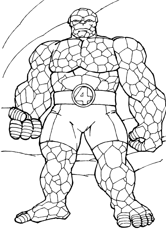 Super Hero: Super Hero Coloring Pages