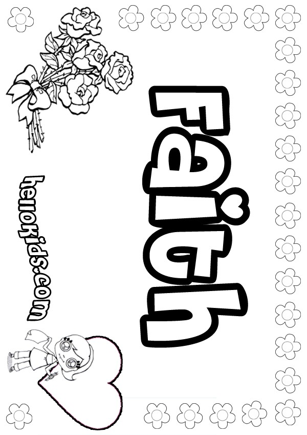 Faithfulness Coloring Page Free Printable For Kids.html