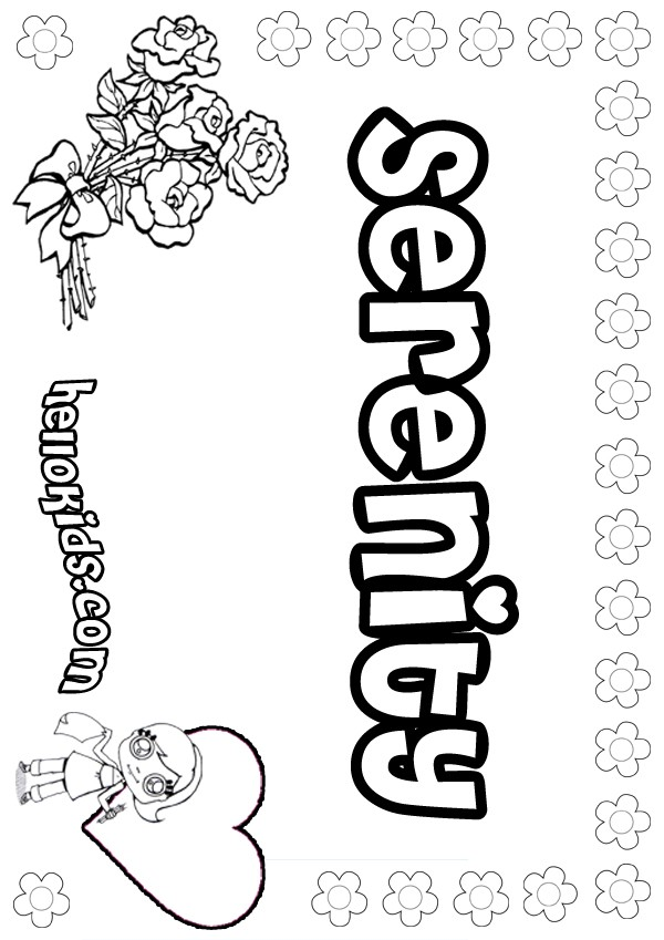 Serenity Coloring Pages Printable Coloring Pages