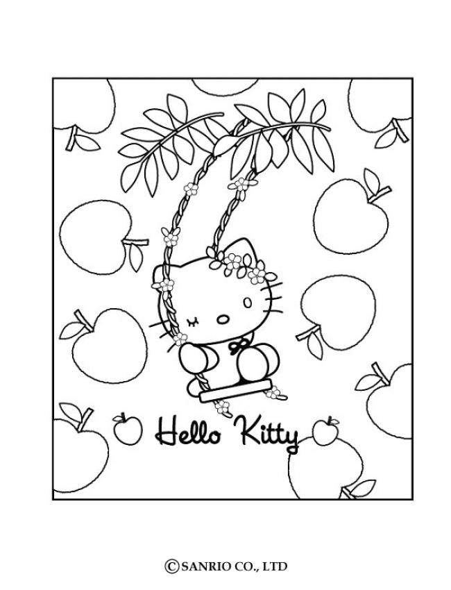 about kim kardashian: hello kitty happy easter coloring pages
