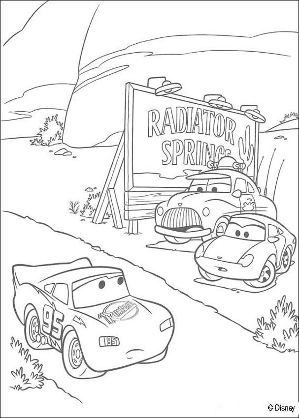 Lightning Mcqueen Cars Coloring Pages