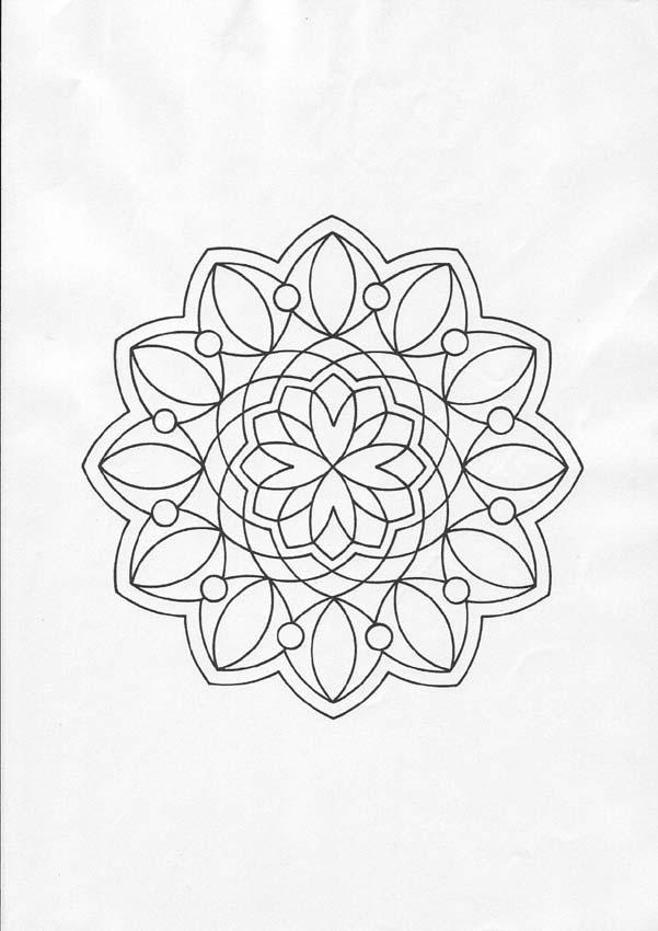 Mandala 36 Worksheet