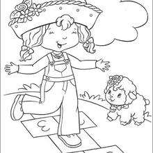 STRAWBERRY SHORTCAKE coloring pages : 30 online toy dolls