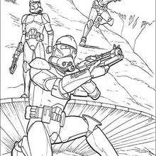 STAR WARS coloring pages : 70 Star Wars online coloring