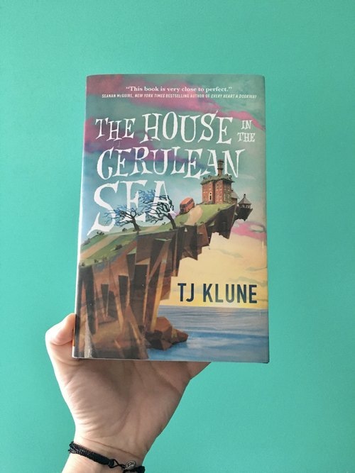 the house in the cerulean sea by tj klune cover art