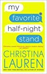 my favorite half-night stand by christina lauren cover art
